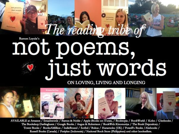 The reading tribe of 'not poems, just words'