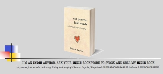 Indie book by indie author