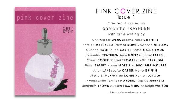PinkCoverZineIssue1Flyer